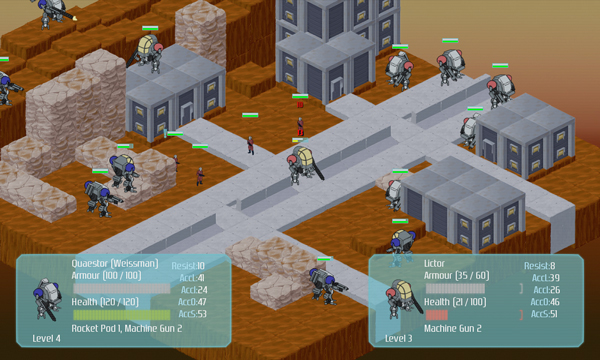 Chronicle of Mars Battle Screenshot