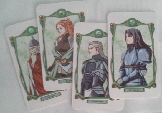 Tristan and Iseult Cards